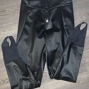 Womens Spyder Painted On Stirrup Pant